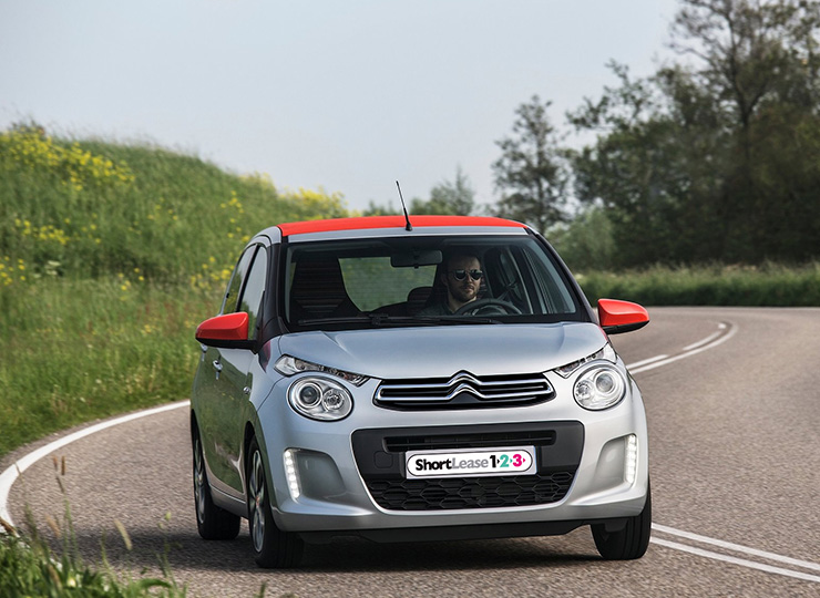 Shortlease 123 Citroën C1 Shortlease hoofdfoto