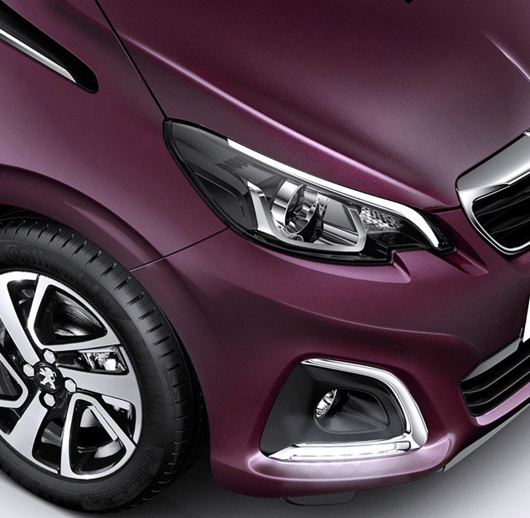 Peugeot 108 benzine shortlease for Interieur 108
